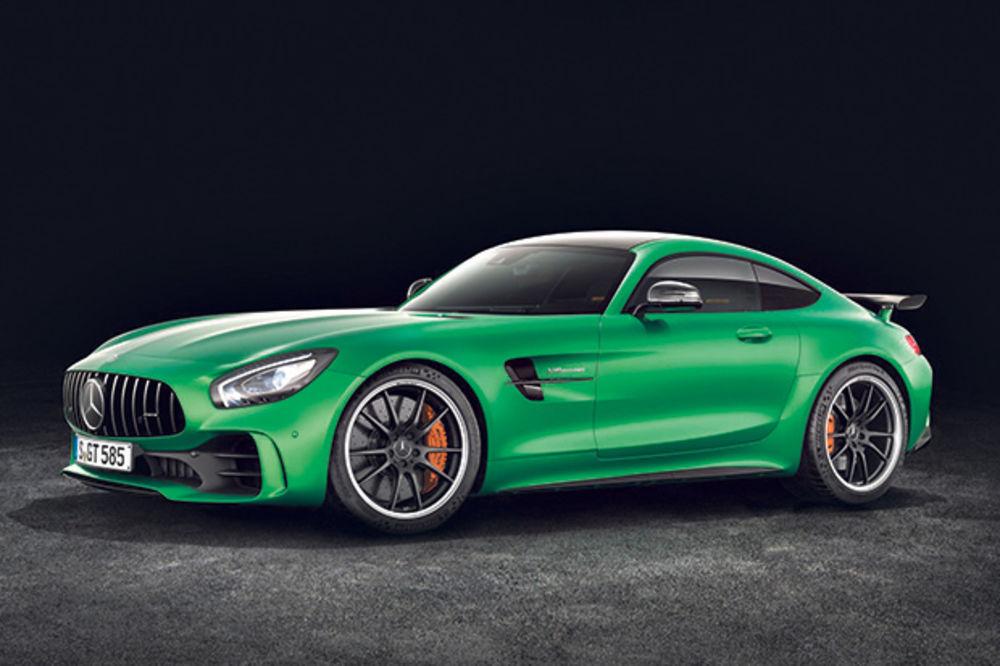 ZELENA ZVER: Mercedes predstavio supersportski AMG GT R