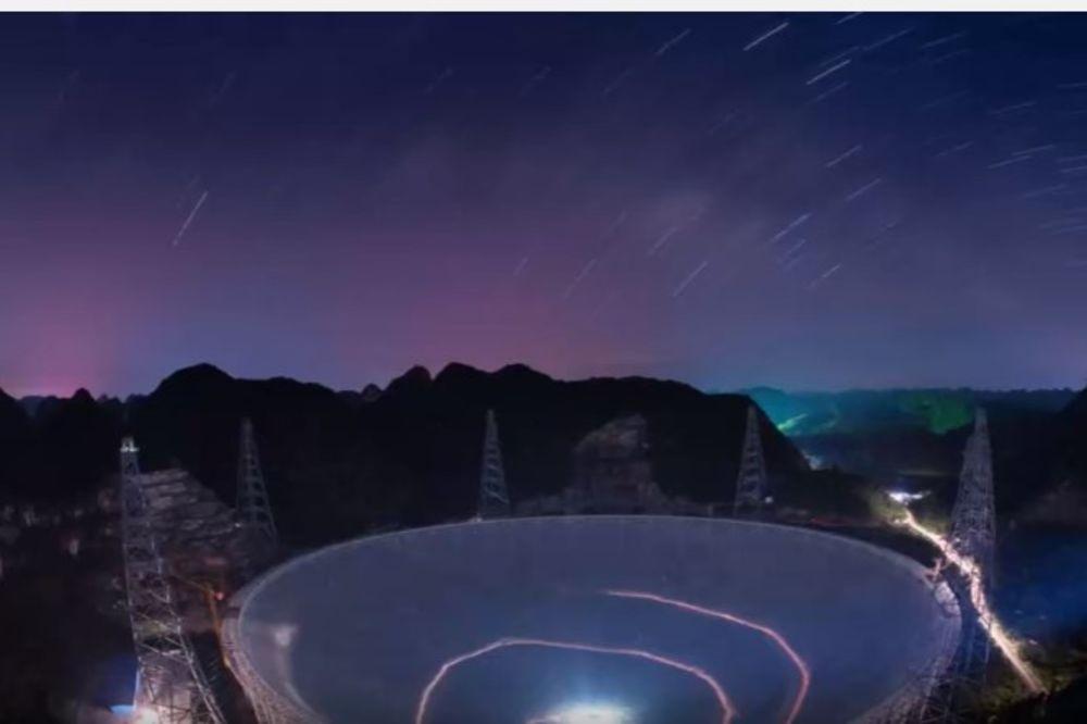 (VIDEO) KINEZI KREĆU U LOV NA VANZEMALJCE: Izgradili naveći teleskop na svetu, Amerikanci u strahu