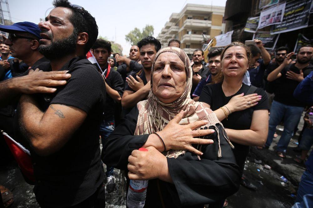 TEROR U BAGDADU: U samoubilačkom napadu ubijeno 12 ljudi
