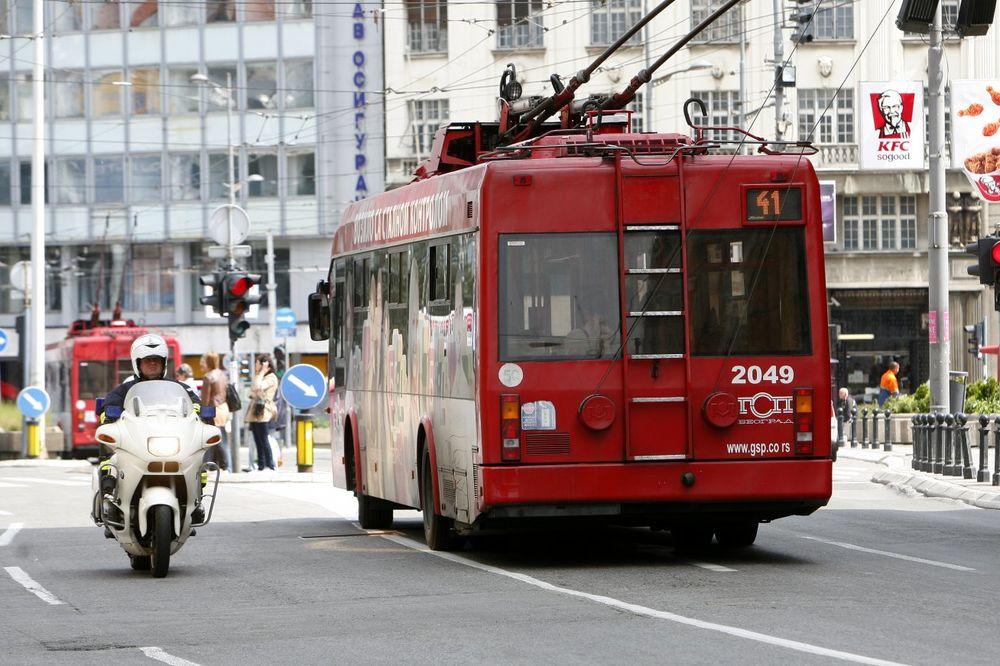 RADOVI NA TROLEJBUSKOJ MREŽI: Umesto trola 19, 21, 22 i 29 idu autobusi
