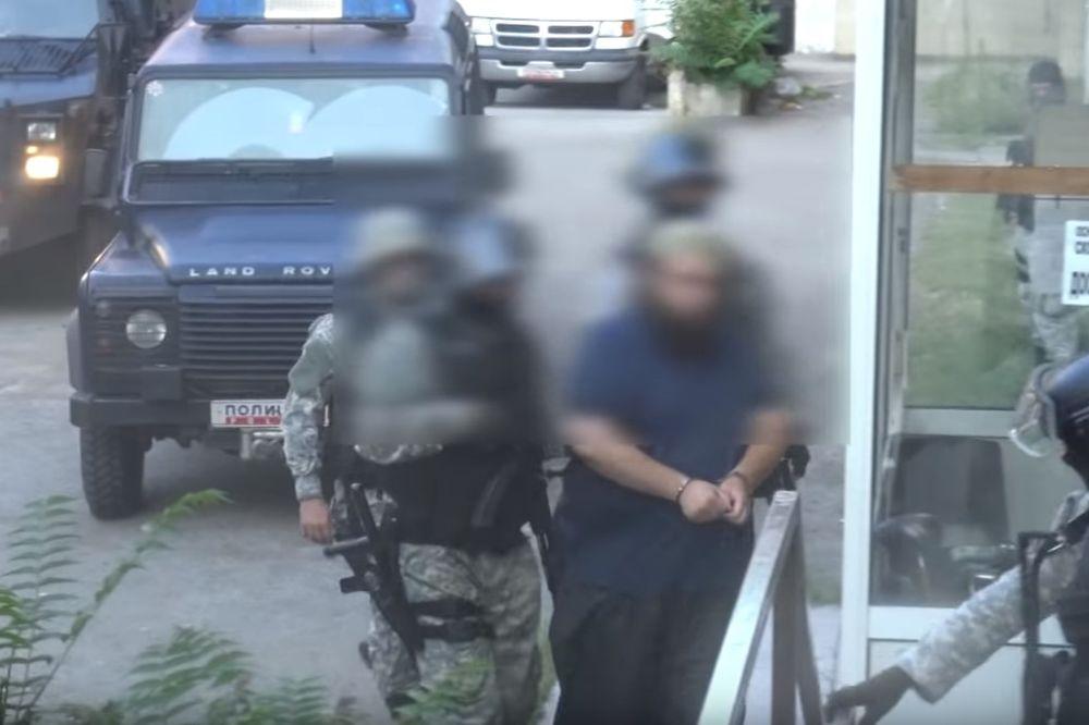 (VIDEO) OPERACIJA ĆELIJA 2: Ovako je izgledalo hapšenje islamista u Makedoniji