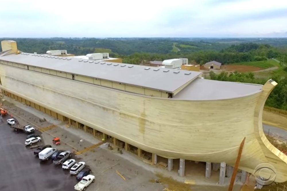(VIDEO) ČUDO U KENTAKIJU: Izgrađena Nojeva barka vredna 100 miliona dolara