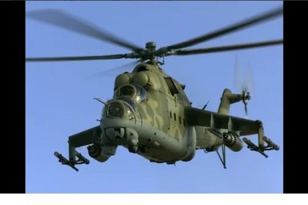 DŽIHADISTI OBORILI RUSKI HELIKOPTER: Poginula dvojica pilota