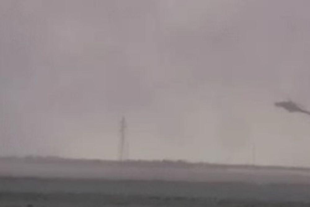 (VIDEO) DŽIHADISTI OBJAVILI SNIMAK RUŠENJA HELIKOPTERA: Pogledajte trenutak smrti ruskih pilota