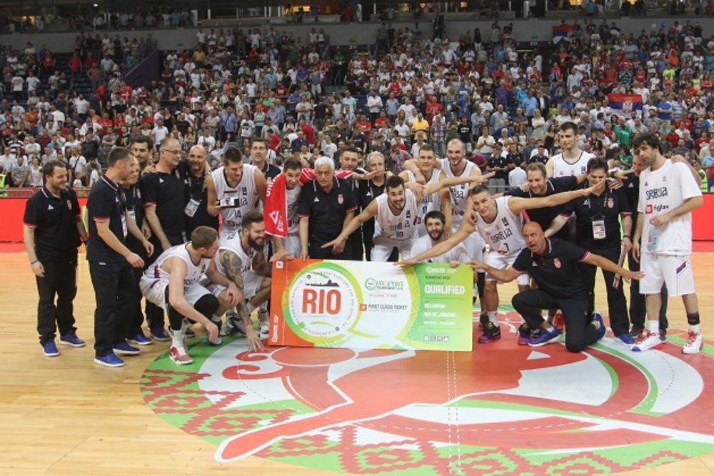 (KURIR TV) RIO, EVO NAS: Košarkaši Srbije demolirali Portoriko i plasirali se na Olimpijske igre
