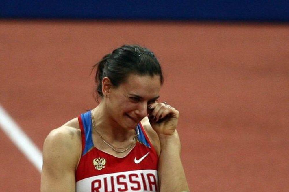 ODBILI SU MI MOLBU: Ruska šampionka Išinbajeva definitivno ne ide na Olimpijske igre