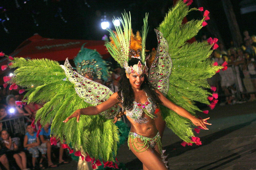 VESELO: Rio usred Vrnjačke Banje
