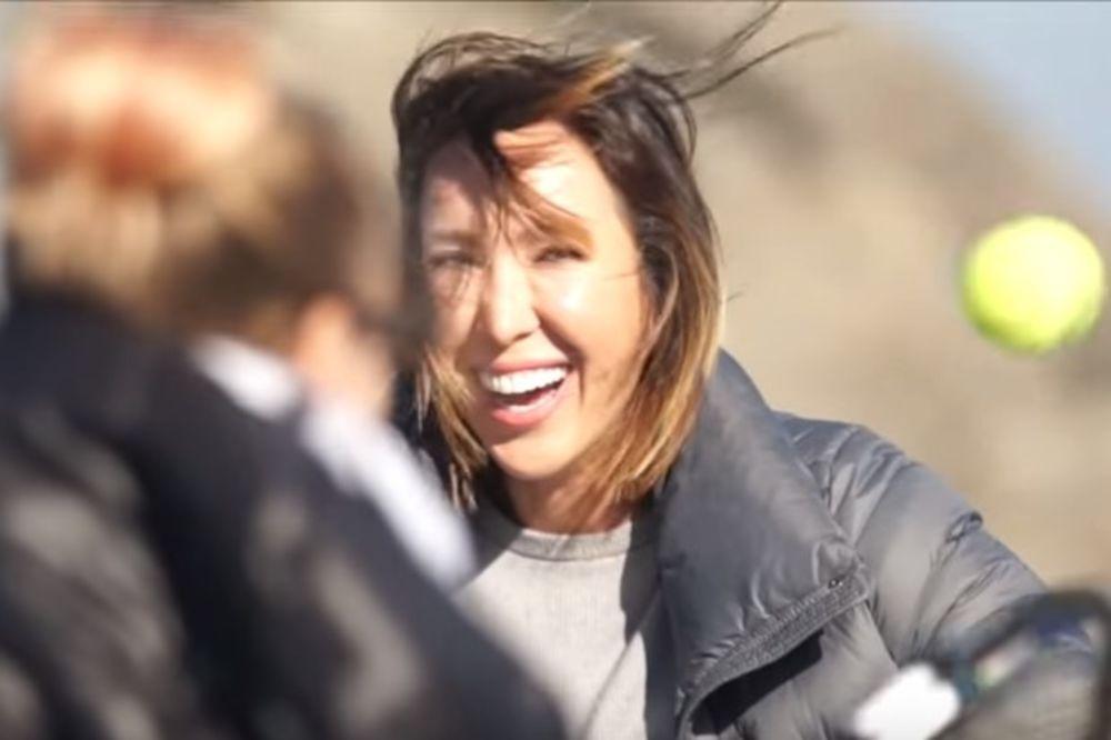 (VIDEO) SRPKINJA PRVA NA SVETU: Jelena Janković uradila nešto što nije niko pre nje