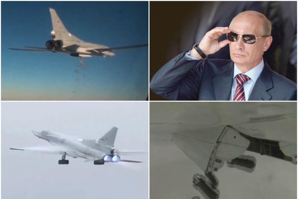 PUTIN POSLAO 6 STRATEŠKIH BOMBARDERA NA ID: Rusija u razornom napadu sravnila kamp džihadista!
