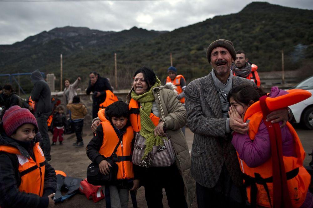 STRAŠNA IZBEGLIČKA TRAGEDIJA: Dvoje dece se utopilo blizu Lezbosa