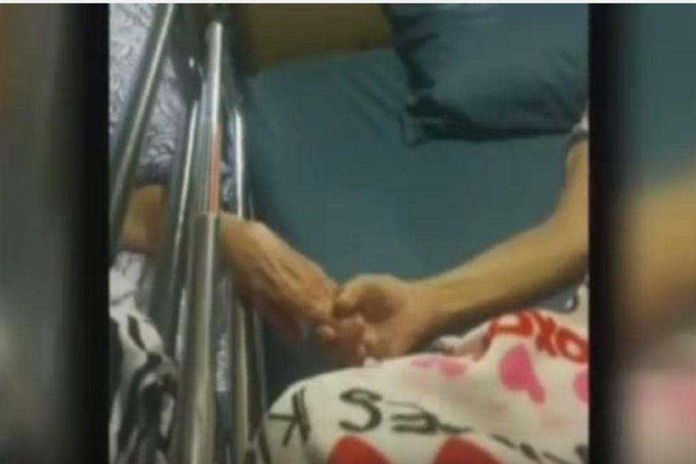 (VIDEO) LJUBAV DO KRAJA ŽIVOTA: Posle 60 godina braka par iz Amerike umro držeći se za ruke