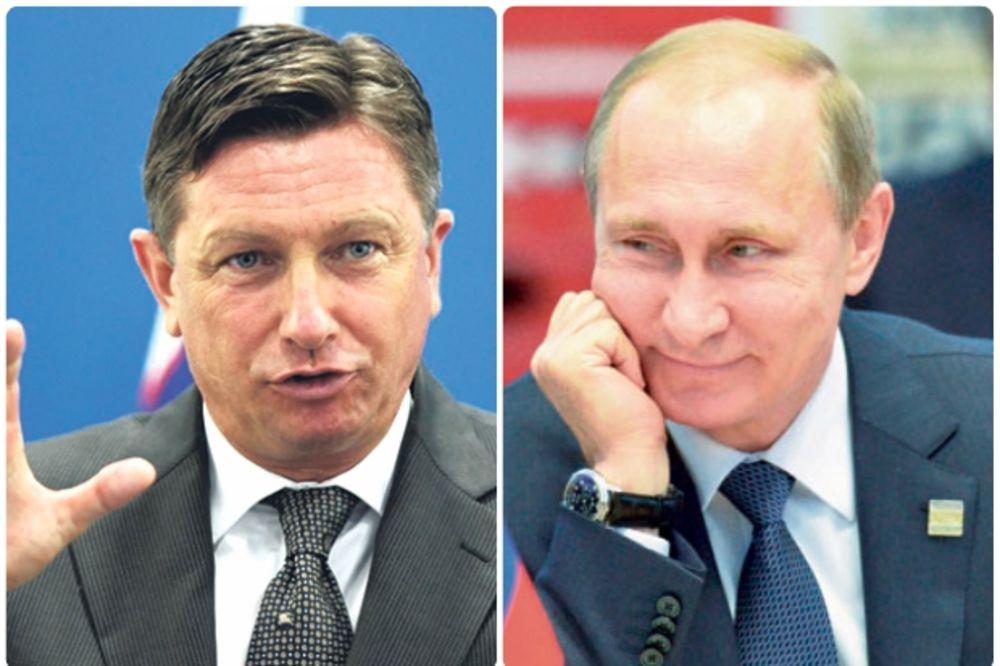 O OVOME SE DO SADA NIJE ZNALO Pahor: Kako smo Putin i ja izludeli službe bezbednosti u Ljubljani!