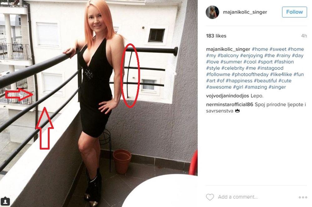 (FOTO) MAJA ISKRIVILA I ZGRADE I OGRADE: Kad se pevačica dohvati fotošopa, ni arhitekte ne pomažu!