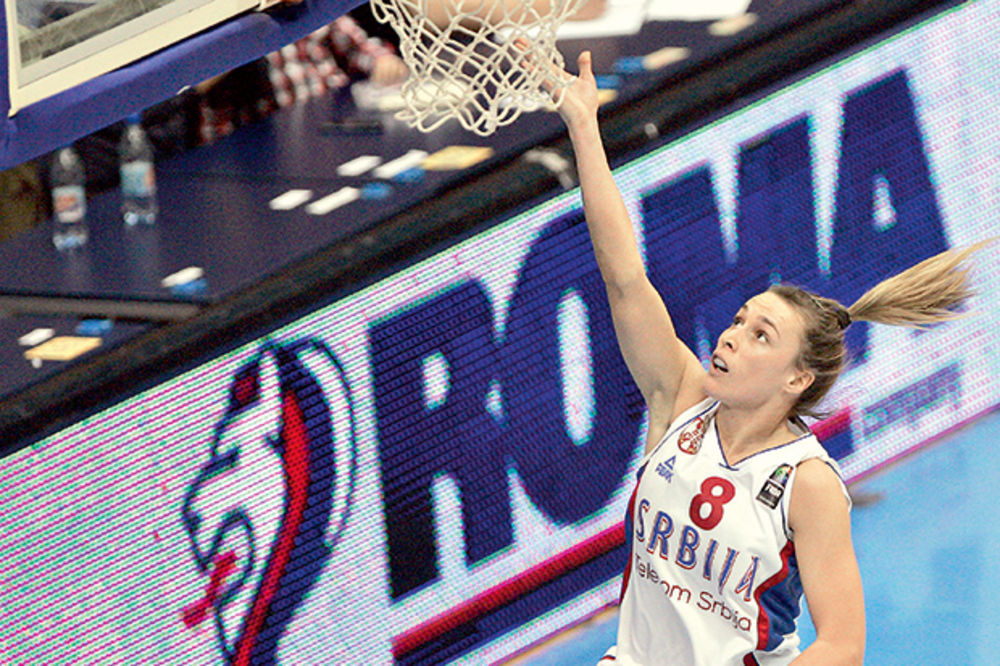 KOŠARKAŠICE SE SPREMAJU: Svim srcem ćemo igrati za grb Srbije!