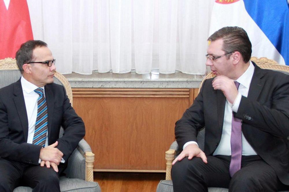 SASTANAK U VLADI: Vučić razgovarao s turskim ambasadorom