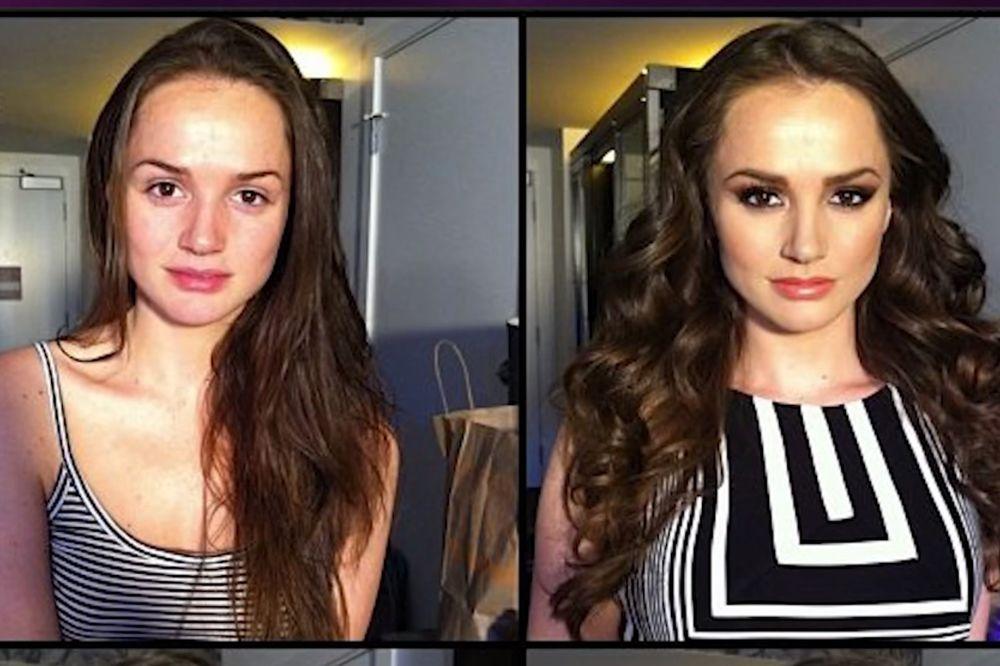 KRAH MUŠKIH FANTAZIJA: Ovako izgledaju porno glumice pre i posle šminke
