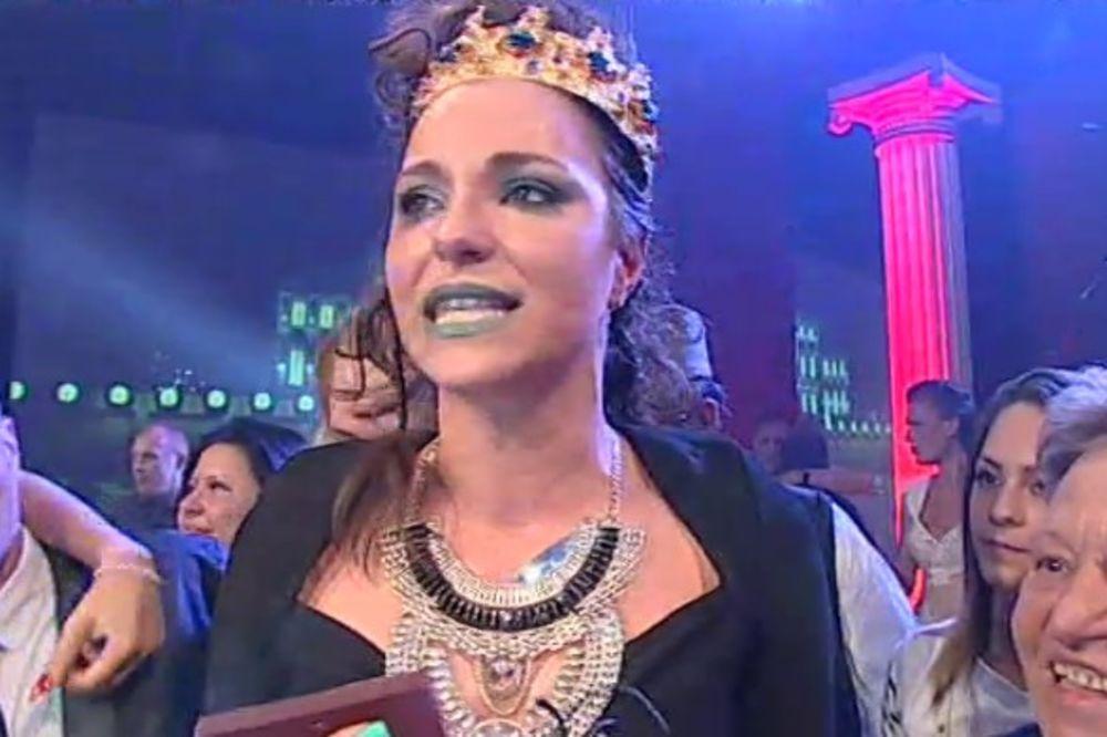 Ružica Veljković, pobednica, Parovi, Foto: Printskrin