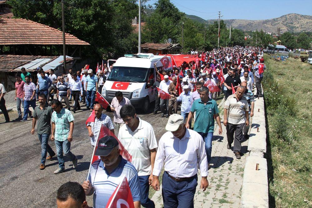 TURSKA: Građani se opraštaju od žrtava državnog udara