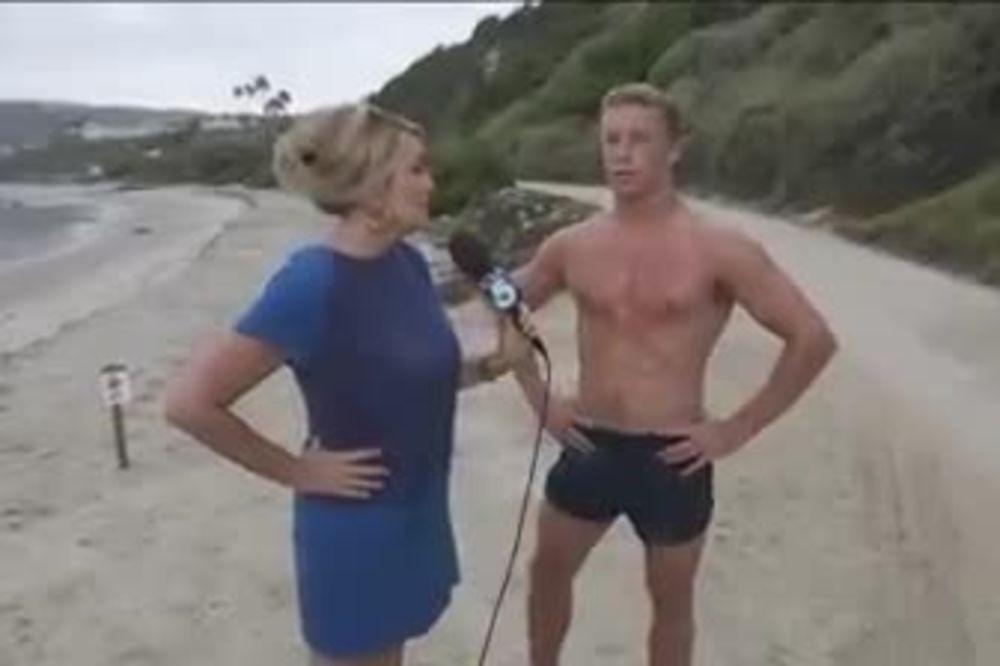 (VIDEO) HIT VODITELJKA: Zaljubila se tokom intervjua i uradila nešto neverovatno