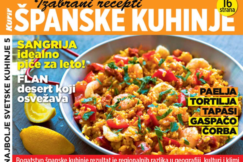 DANAS UZ KURIR: Izabrani recepti španske kuhinje