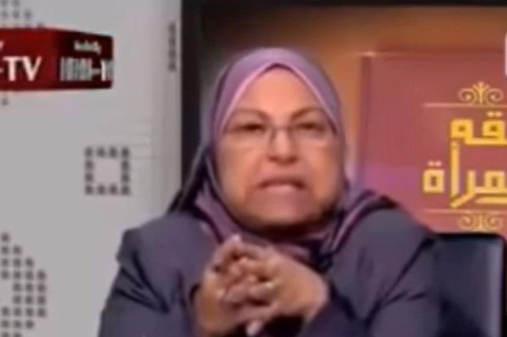 SRAMNA IZJAVA EGIPATSKE PROFESORKE: Sasvim je u redu da muslimani siluju žene druge vere!