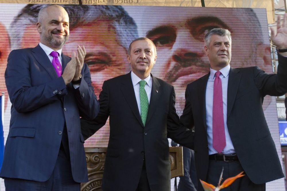 (FOTO) OPASNE AMBICIJE: Ovo su Erdoganovi planovi za Balkan