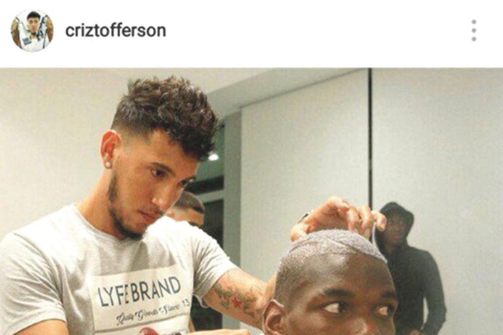 KAKAV ISPAD: Frizer otkrio da je Pogba završio transfer u Junajted