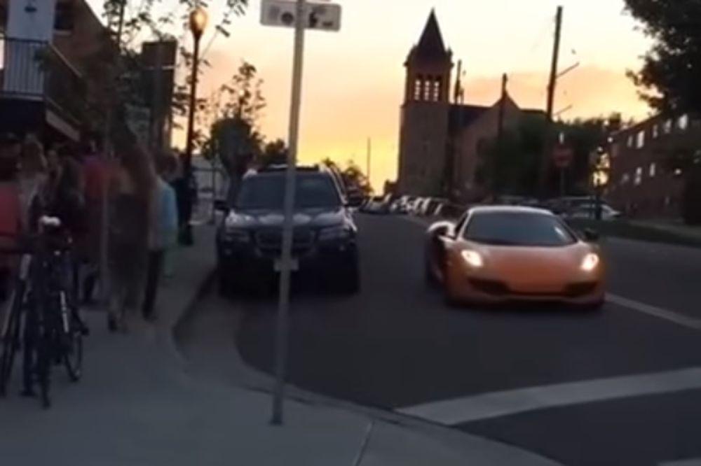(VIDEO) BAHATOST SE NE ISPLATI: Ko je brži, skejt ili novi Meklaren? Presmešno!