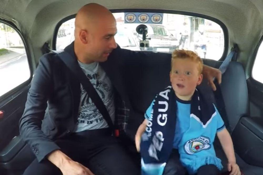 (VIDEO) RADOST NEOPISIVA: Evo šta se desi kada mališan upozna svog fudbalskog idola
