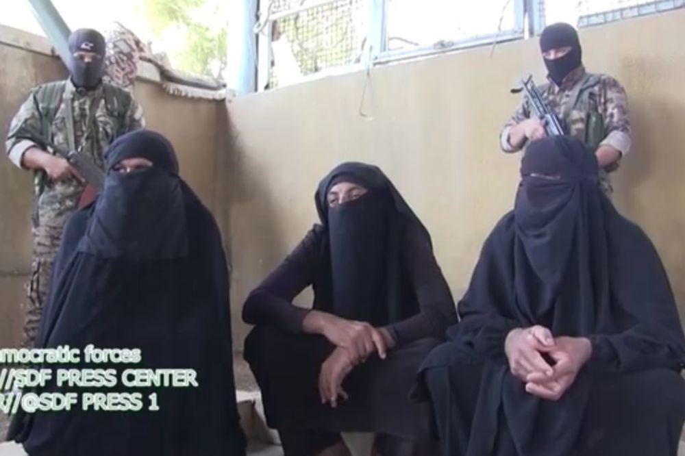 (VIDEO) Nežniji teroristi: Borci Islamske države pokušali da pobegnu prerušeni u žene