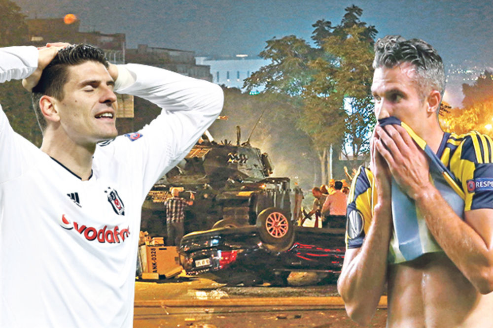SPORTISTI BEŽE IZ ISTANBULA: Gomez i Van Persi pobegli, Srbi ostaju kod Erdogana!