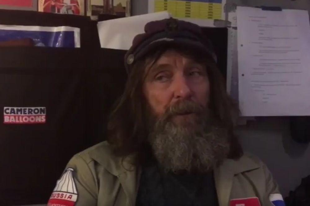 (VIDEO) PUTOVAO 11 DANA: Ruski avanturista obišao svet u balonu,  a sada je pred njim novi zadatak