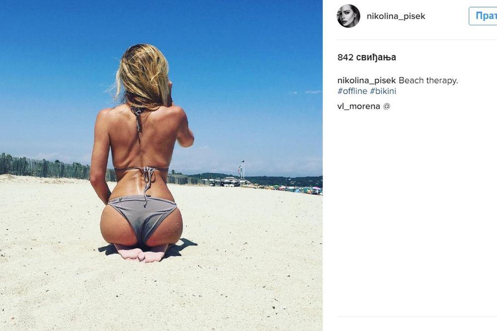 VODITELJKA OBJAVILA SLIKU S PLAŽE: Srušila je Instagram svojom savršenom guzom