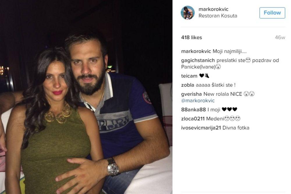 (FOTO) ČUVA GA OD DRUGIH ŽENA: Pogledajte kakvim zaštitnim faktorom Marka Rokvića maže supruga