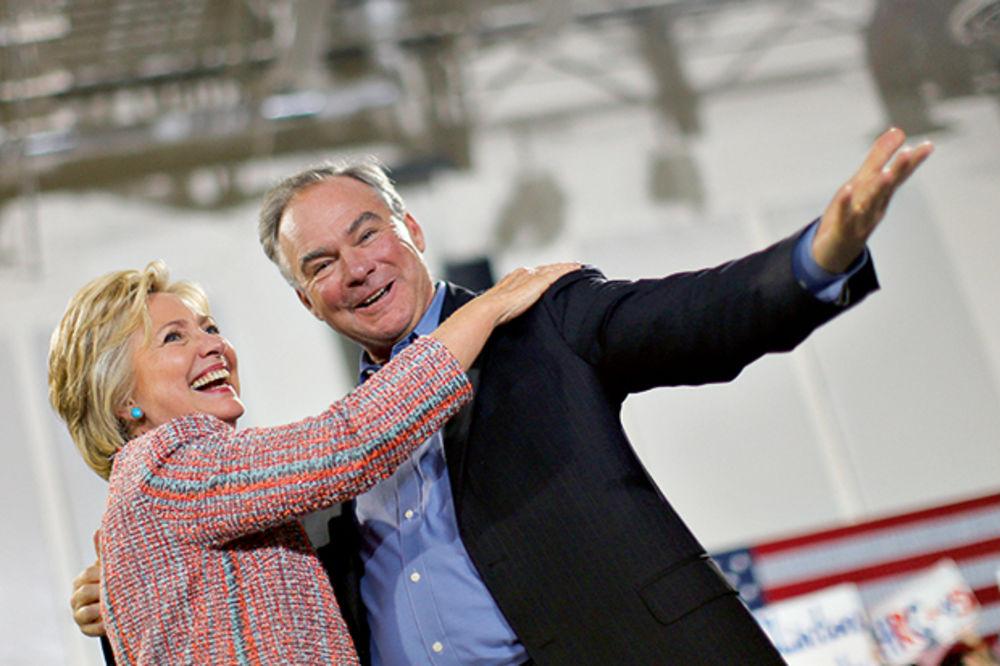 PROTIVNIK ABORTUSA U TRCI ZA BELU KUĆU: Klintonova izabrala Kejna za potpredsednika