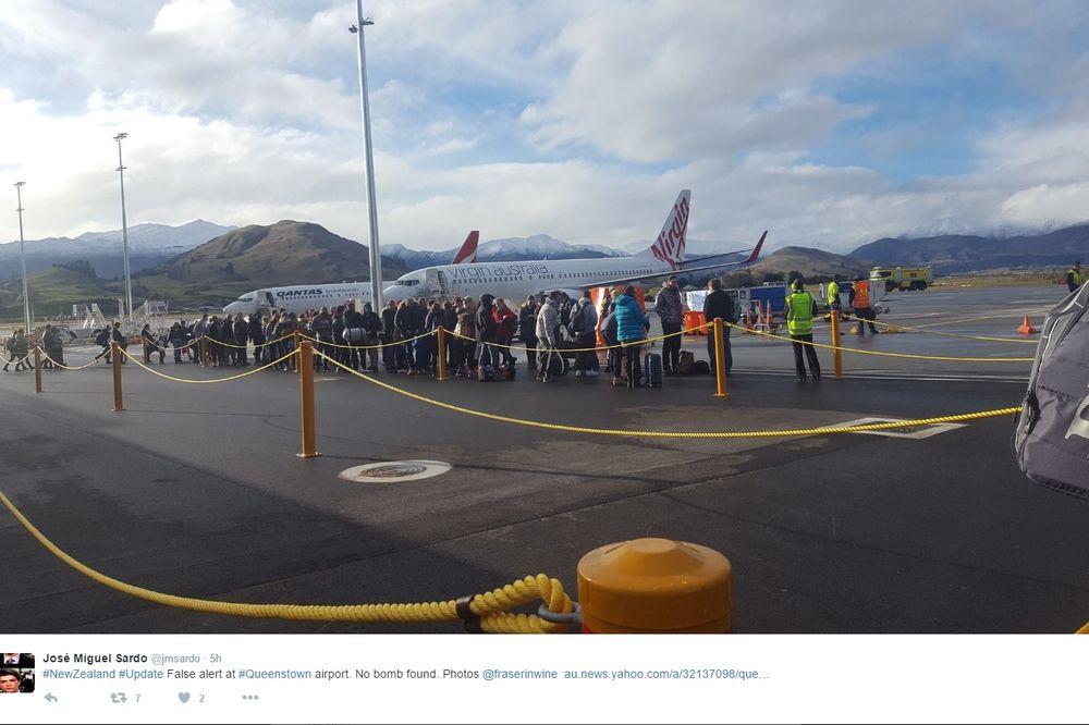 PANIKA NA NOVOM ZELANDU: Evakuisan aerodrom zbog dojave o bombi