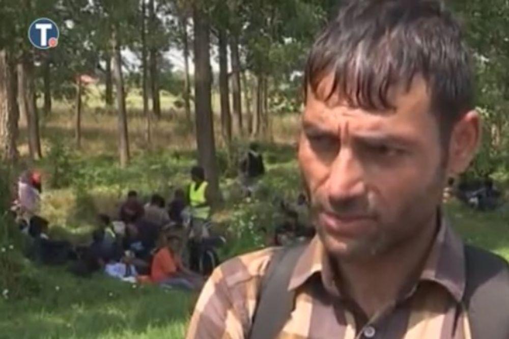 PORUKA MIGRANTA IZ HORGOŠA SVETSKIM LIDERIMA: Izbeglice ne ostavljajte u Srbiji, zaustavite rat