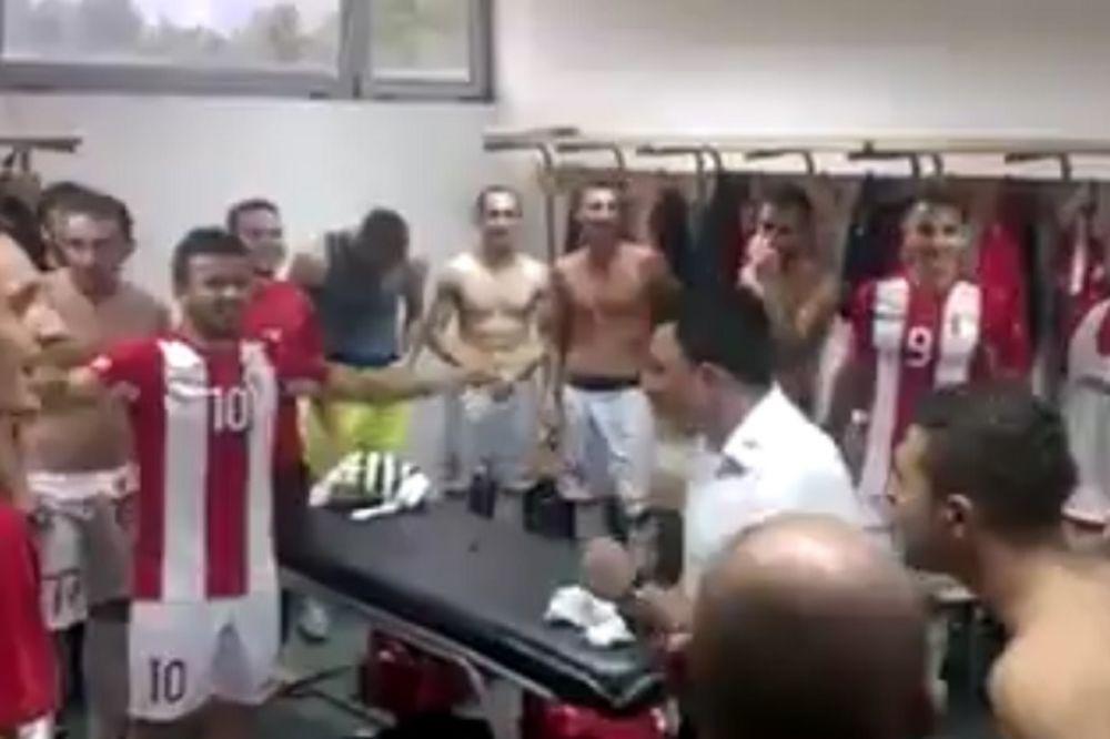 (VIDEO) LUDNICA U ZENICI: Pogledajte haos u svlačionici posle pobede debitanta u Premijer ligi BiH