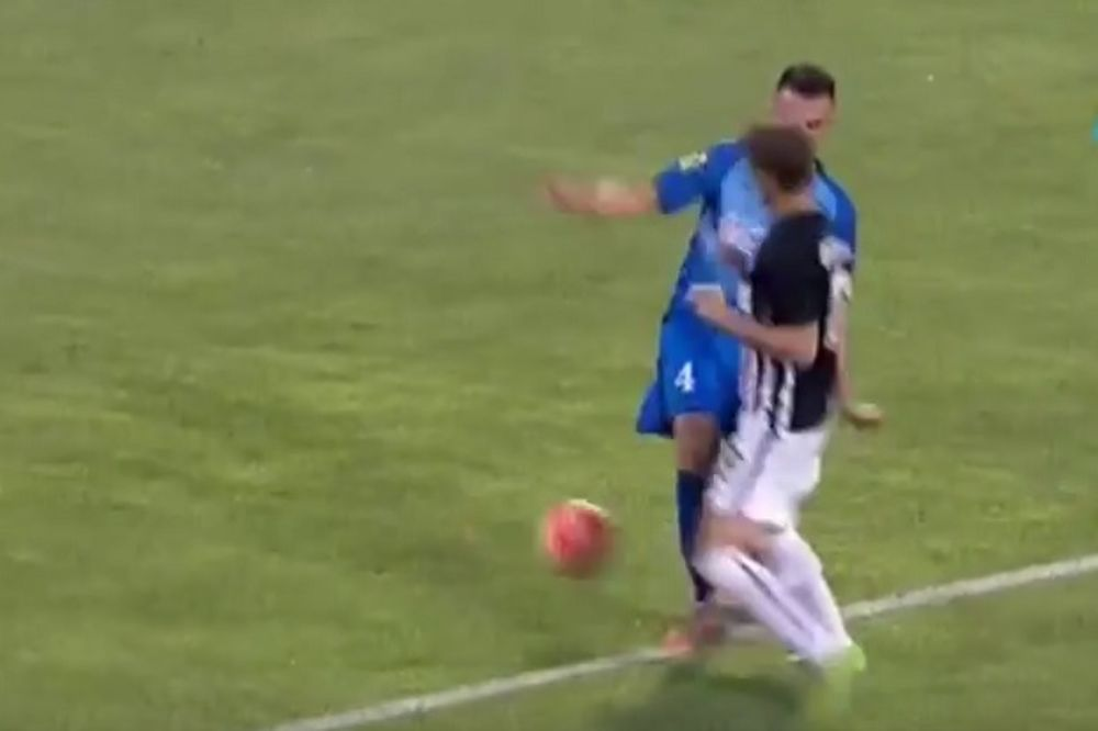 (VIDEO) Procenite da li je Partizan oštećen za penal protiv Bačke