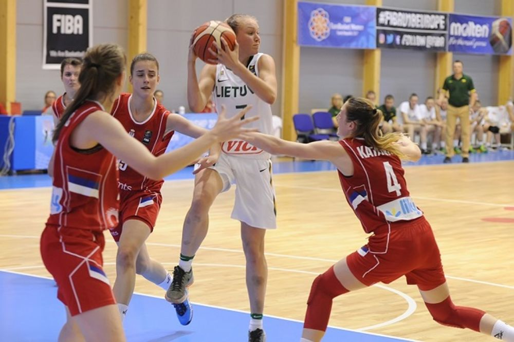 FURIOZNO DRUGO POLUVREME: Srpske juniorke pobedile Litvaniju na EP u košarci