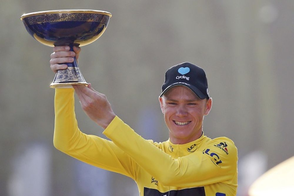 DOMINACIJA: Kris Frum treći put pobedio na Tur de Fransu