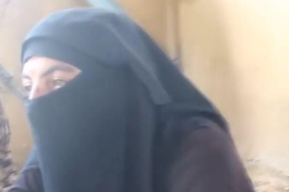 (VIDEO) NIJE IM POMOGLO PRERUŠAVANJE: Uhvaćeni borci Islamske države dok su bežali maskirani u žene