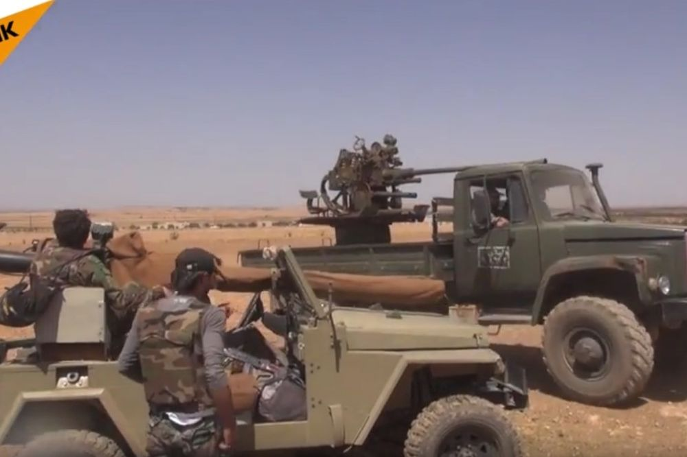 (VIDEO) BORBA ZA NAFTOVOD: Sirijska vojska potukla džihadiste