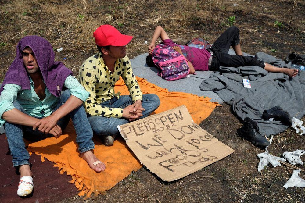 KRAJ DRAME NA HORGOŠU: Migranti prekinuli štrajk glađu i svi traže azil u Srbiji
