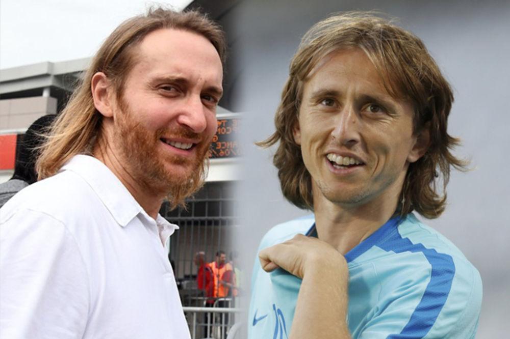 (FOTO) POGODIĆETE IZ PRVE: Na koga liči Luka Modrić posle odlaska kod frizera?