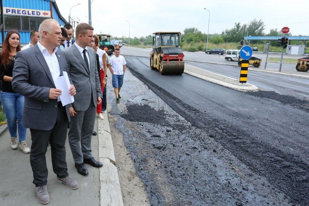 Vesić: U narednih 10 godina će biti obnovljene ulice kojima ide gradski prevoz