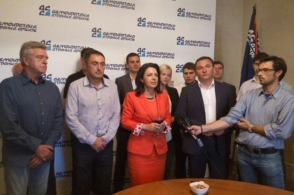DSS PROSLAVIO 24 ROĐENDAN SANDA RAŠKOVIĆ IVIĆ: Uvek smo bili državotvorna stranka