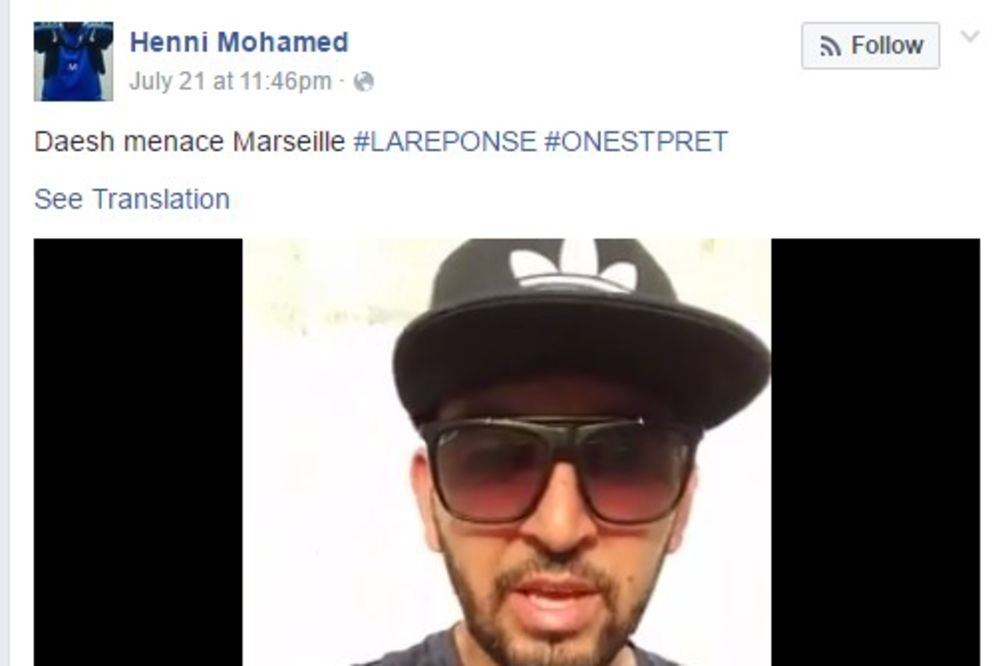 (VIDEO) MUSLIMAN IZ MARSEJA PROZVAO DŽIHADISTE Slobodno dođite ovde i mi imamo kalašnjikove i rakete