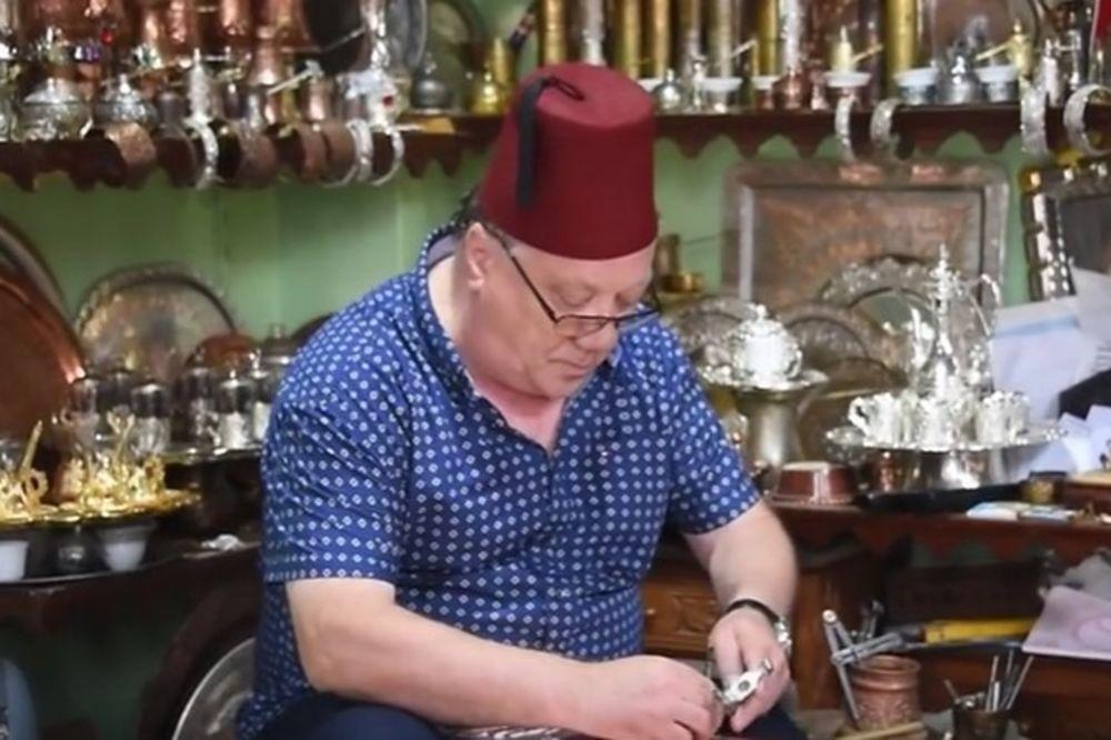 (VIDEO) SARADNJA LEGENDI: Pogledajte kazandžijsko umeće Halida Bešlića
