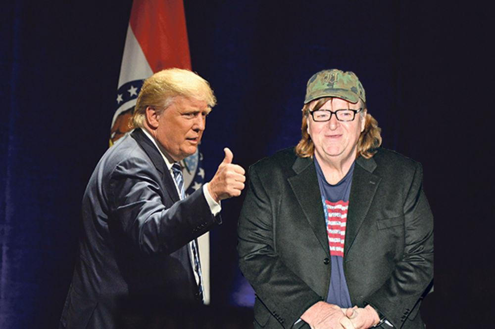 Reditelj Majkl Mur: Tramp je klovn ali biće predsednik